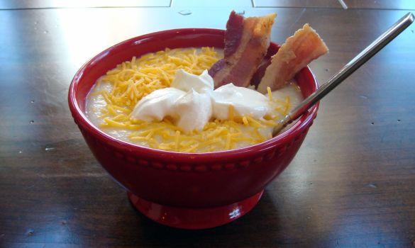 Potato Soup--My bowl