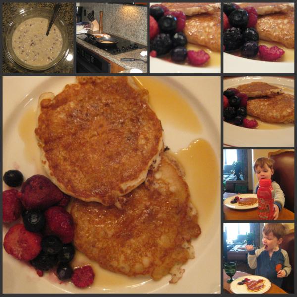 Lemon-Pecan Pancakes breakfast day 4