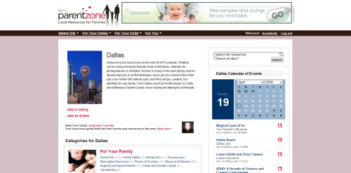 Parent Zone - Dallas