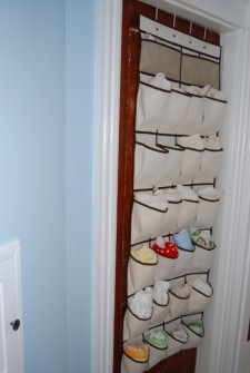Ideas on Organizing your Cloth Diapers!
