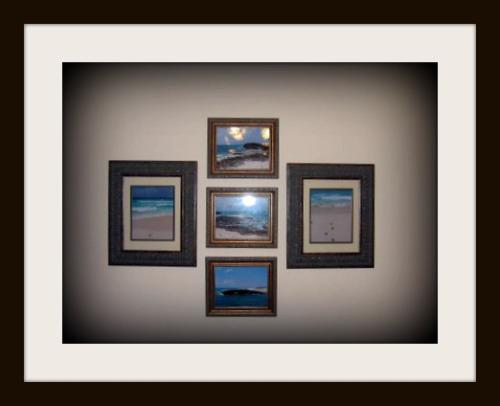 Framed personal art