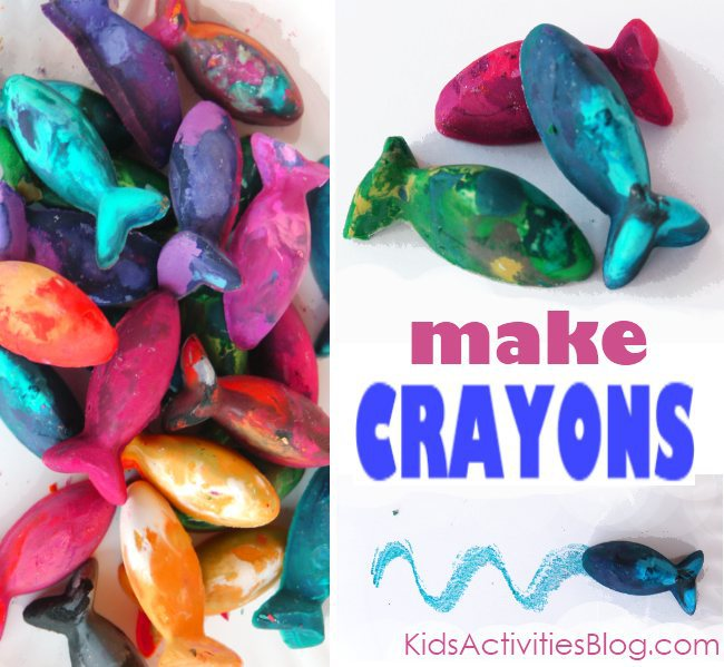 make crayons