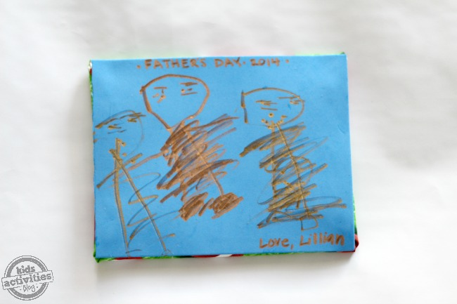 Homemade Father's day craft