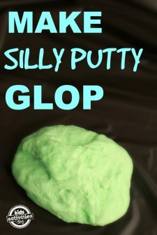 DIY Silly Putty Recipe