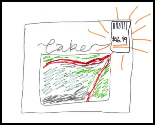 The $46.99 cake