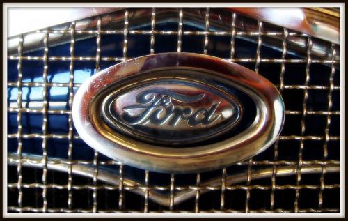 Ford Logo on Model T