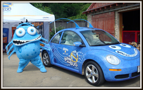 Battle the Bug car and Achoo
