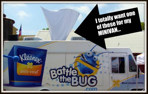 Battle the Bug truck