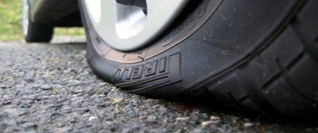 flat tire feature