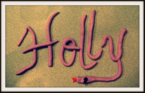 Holly Play-doh