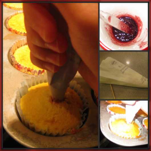 Filled cupcakes - step 3