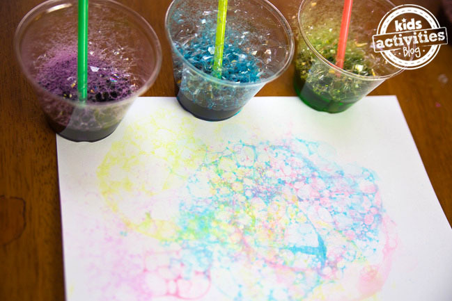 Can You Color Bubbles With Food Coloring