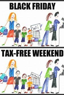 Is tax-free weekend just like Christmas?