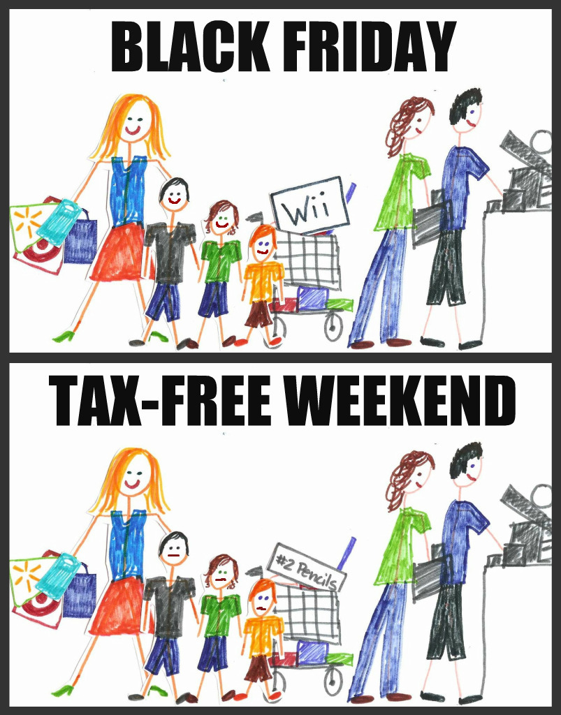 Is tax-free weekend just like Christmas?