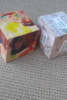 Decoupage: Ways to Showcase Your Kid's Art Work