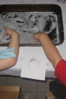 Art with Water: Learning while Making a Mess