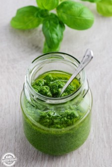 Super Easy Freezer-Friendly Pesto Recipe