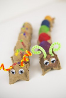 Easy Preschool Caterpillar Craft