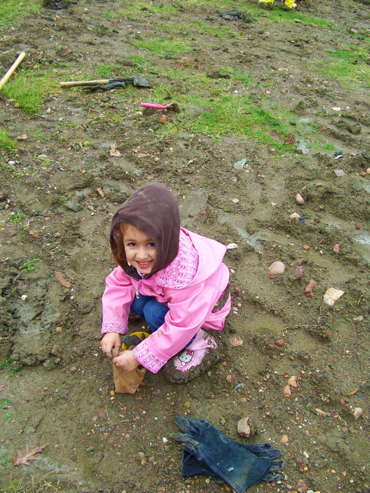 Smiling in the Mud