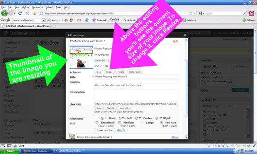 Photo Resizing with WordPress 2