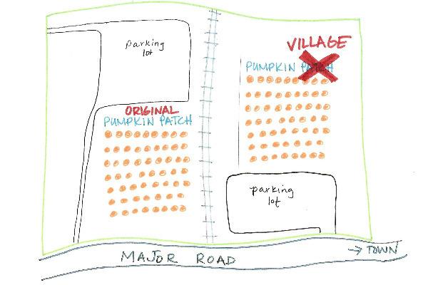 Flower Mound pumpkin patch now named the village