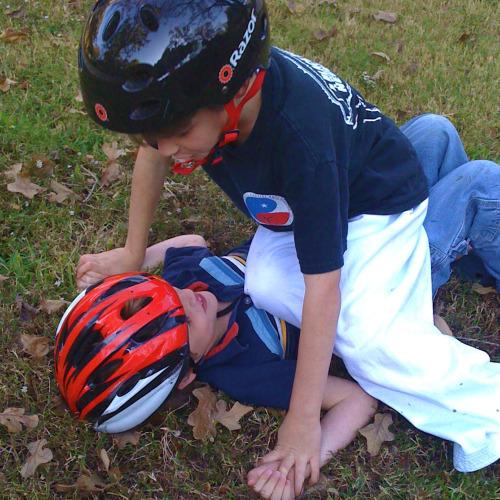 Reid and Ryan fighting