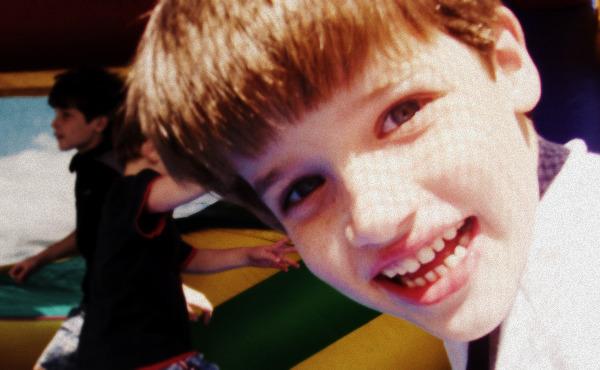 A closeup of Reid