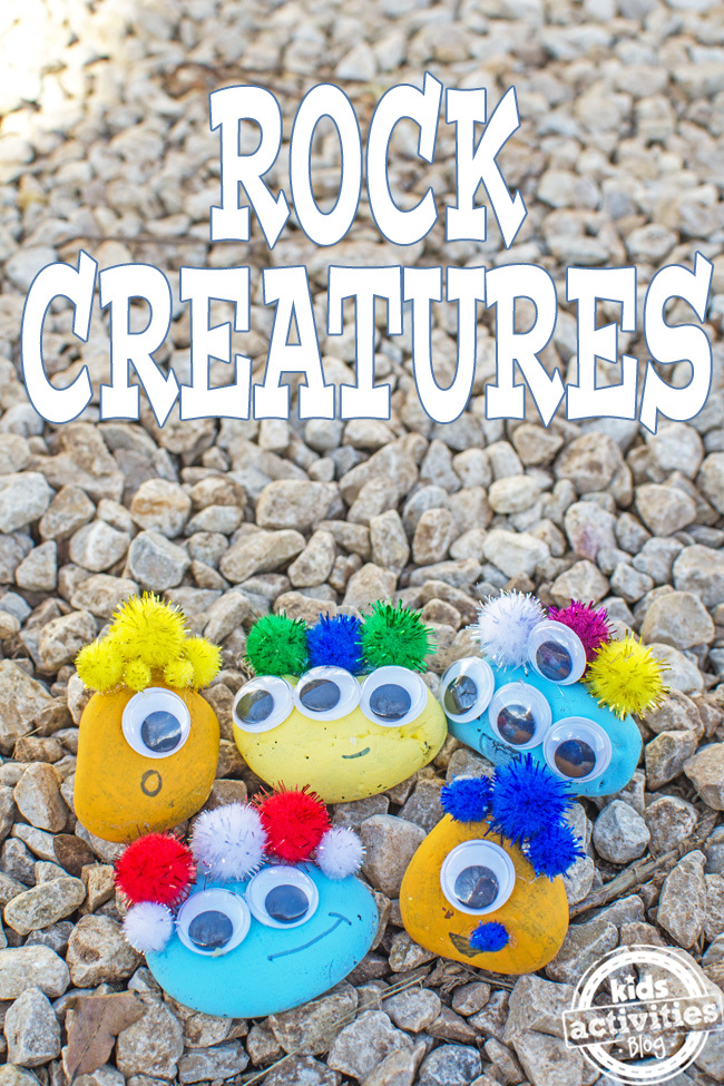 make rock creatures