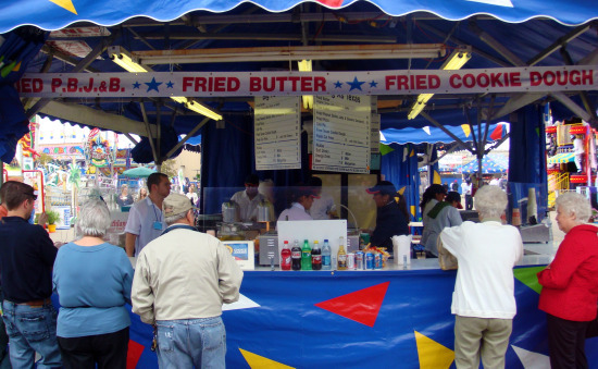 State Fair of Texas Fried Food Stand