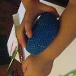 exploring texture and touch