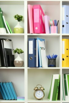 Using a Binder to Organize your Home