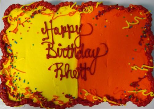 Rhett's Birthday cake