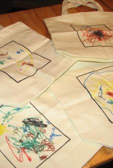 Canvas Totes your Preschooler Can Make
