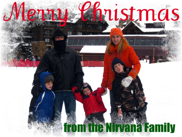 Nirvana Family Christmas Card 2009