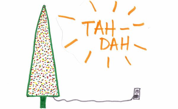 Tree at last - tah dah