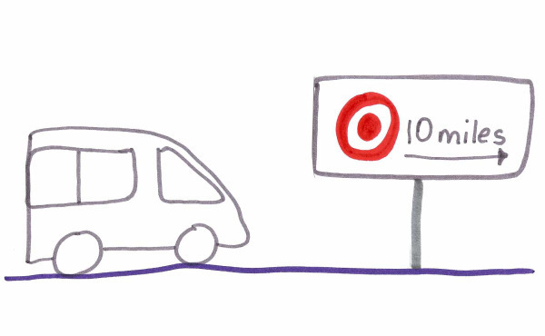 Minivan to target