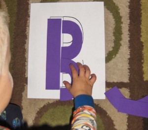Early Literacy Letter Puzzles