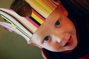 Kids: Make your own party crown