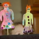 Stick puppets Preschool Theater