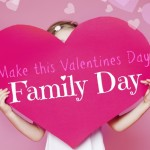 valentines day as family day