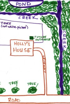In these here parts Holly is known as Fierce Trapper …