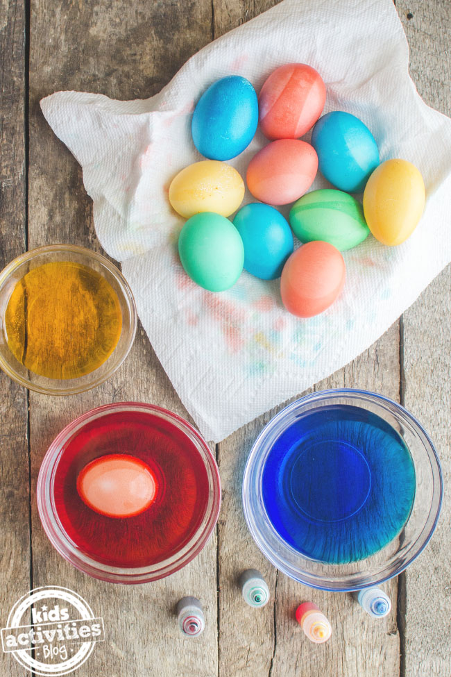 How to Dye Easter Eggs | Kids Activities Blog