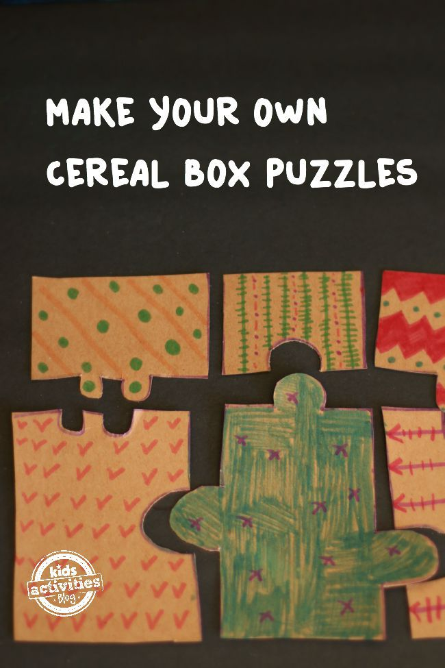 Cereal Box Puzzle Main Image