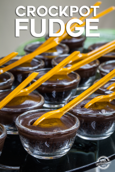 Super Easy Crockpot Fudge