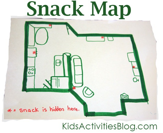 map reading activity