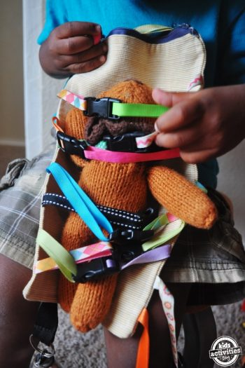 diy clipping toy for toddlers