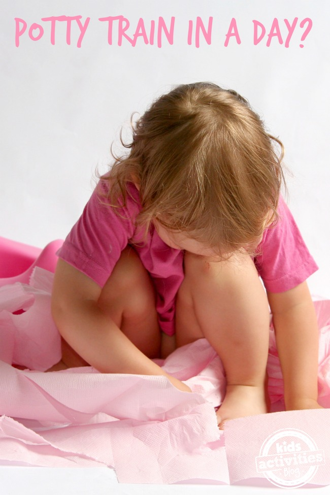 Can you really potty train in a day - Kids Activities Blog