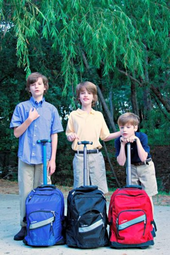 A Tale of Three Backpacks