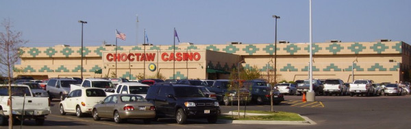 choctaw casino old from google maps