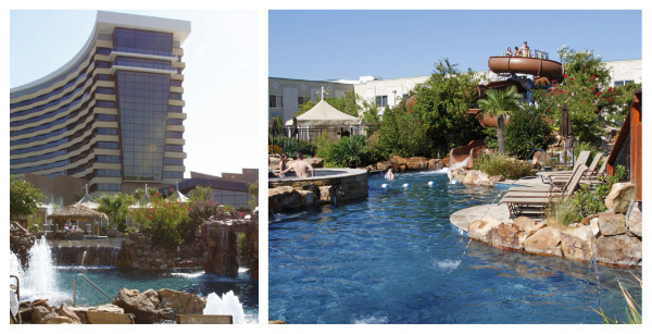 choctaw casino and resort pools and tower
